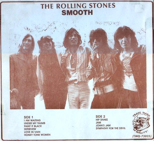 Rolling Stones Tmoq Paper Insert