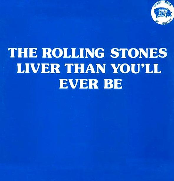 Rolling Stones Tmoq Deluxe Printed Cover